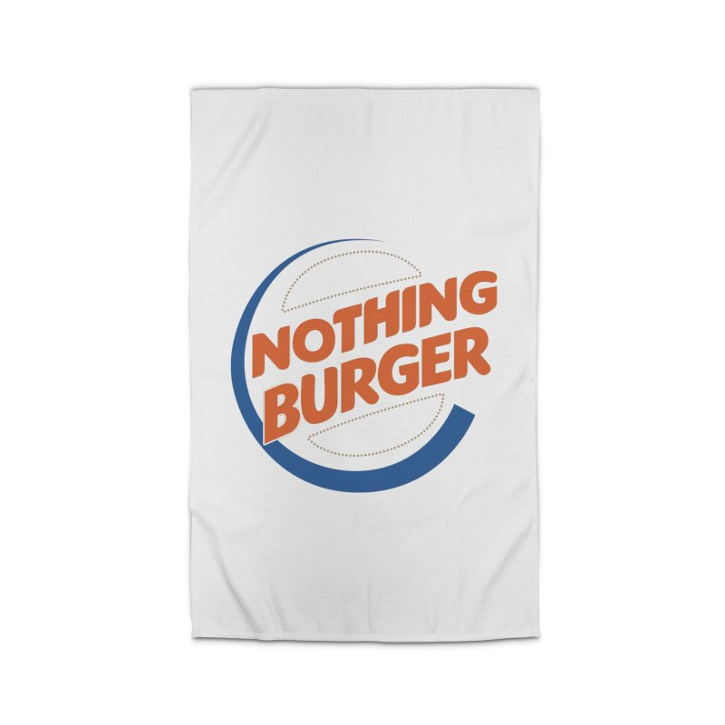 Nothing Burger Home Rug by Illustrations by Phil
