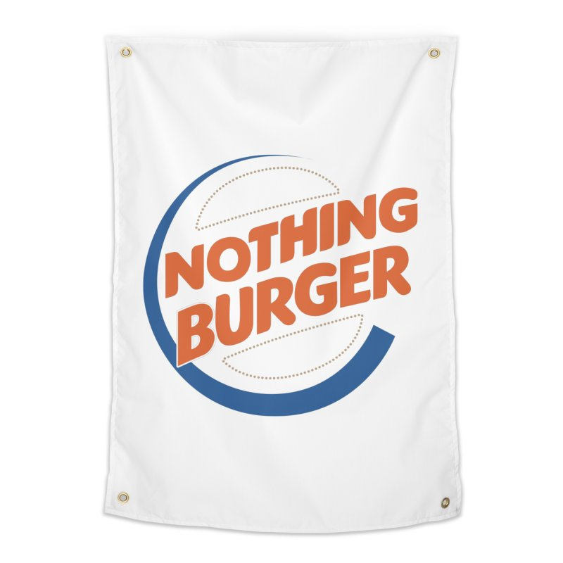 Nothing Burger Home Tapestry by Illustrations by Phil