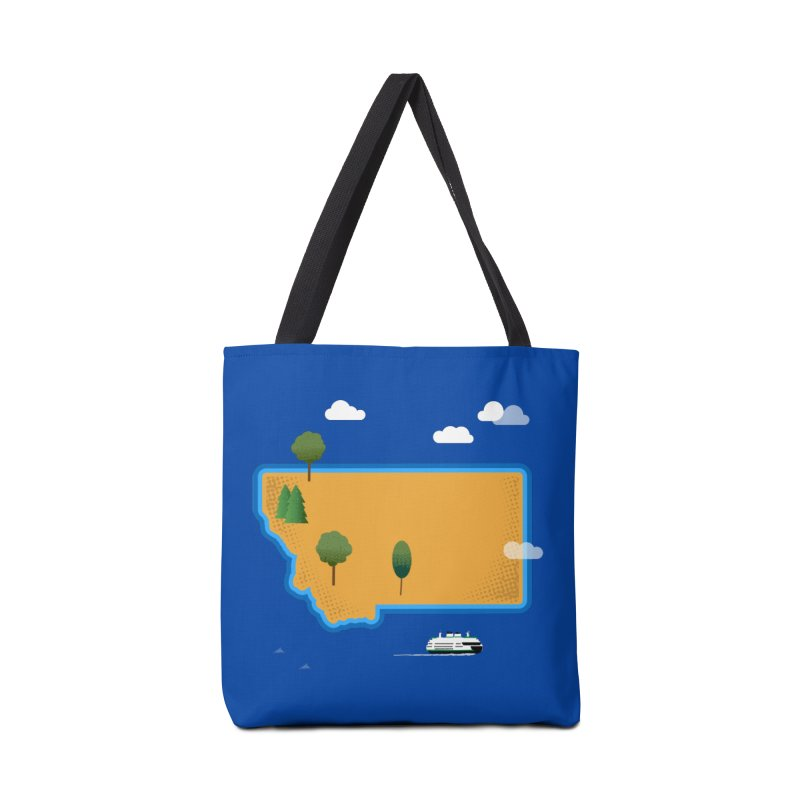 Montana Island Accessories Bag by Illustrations by Phil