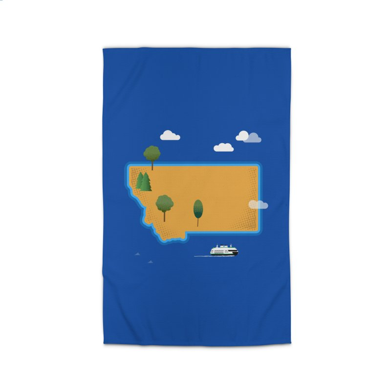 Montana Island Home Rug by Illustrations by Phil