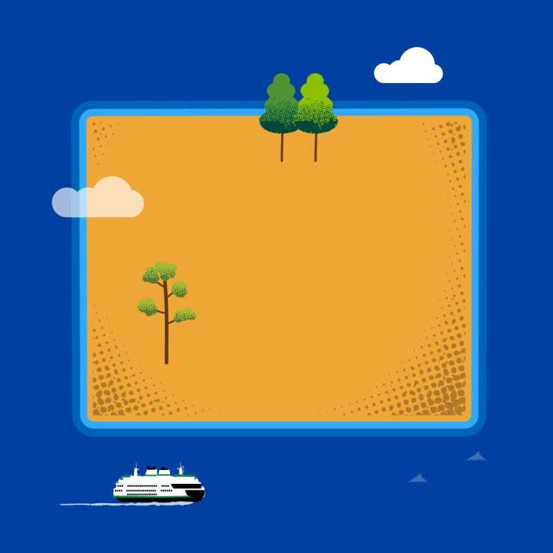Wyoming Island   by Illustrations by Phil
