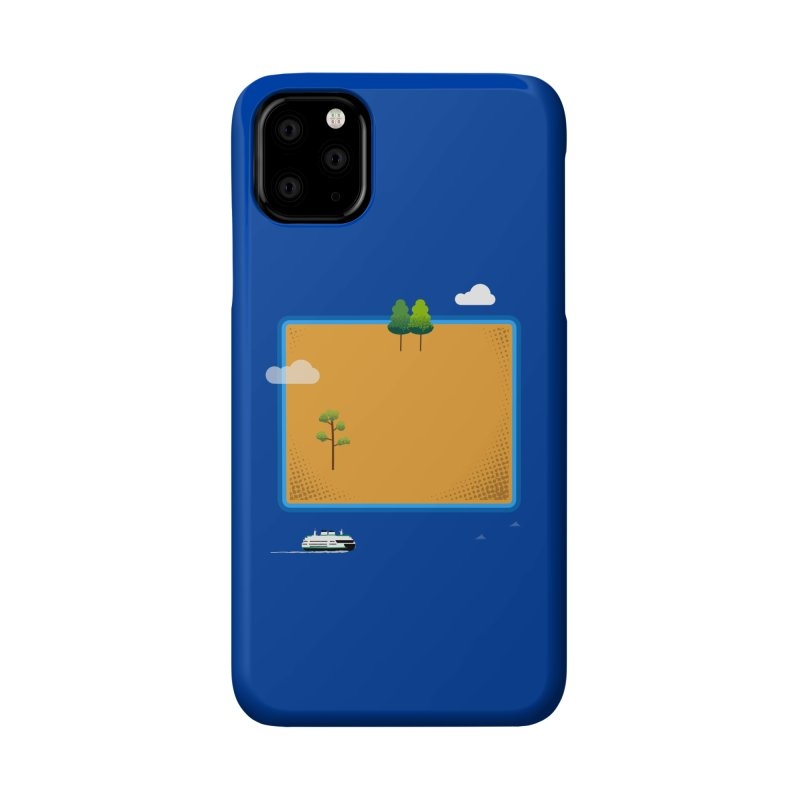 Wyoming Island Accessories Phone Case by Illustrations by Phil
