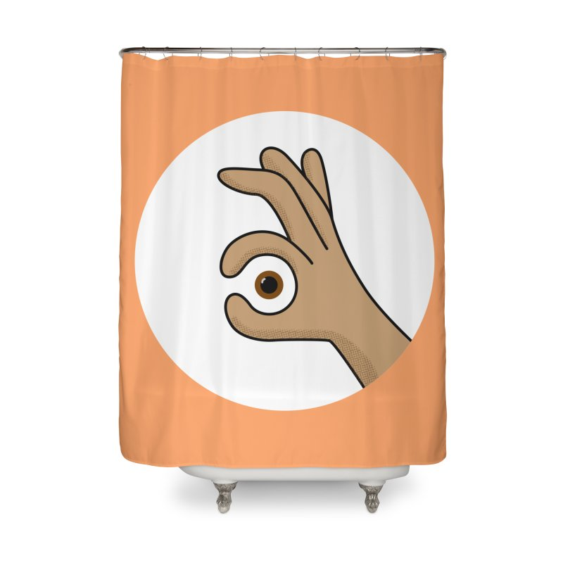 Eye See You Home Shower Curtain by Illustrations by Phil