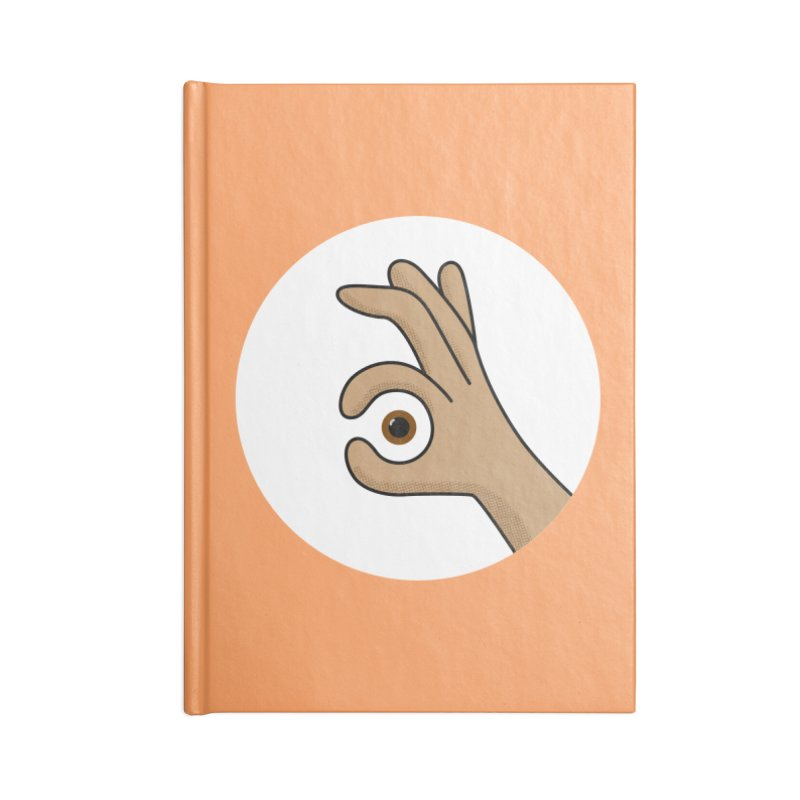 Eye See You Accessories Blank Journal Notebook by Illustrations by Phil