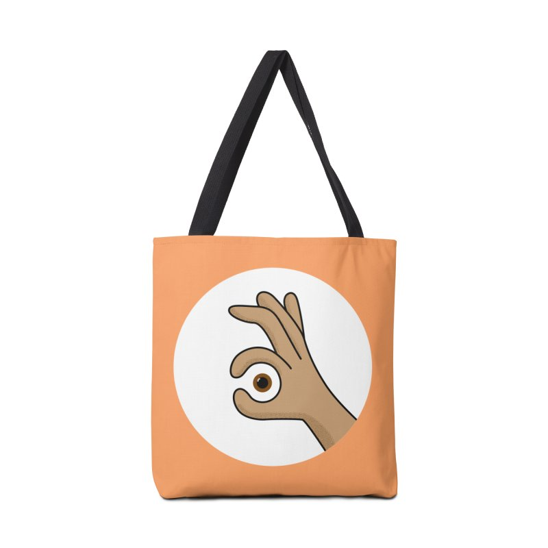 Eye See You Accessories Bag by Illustrations by Phil