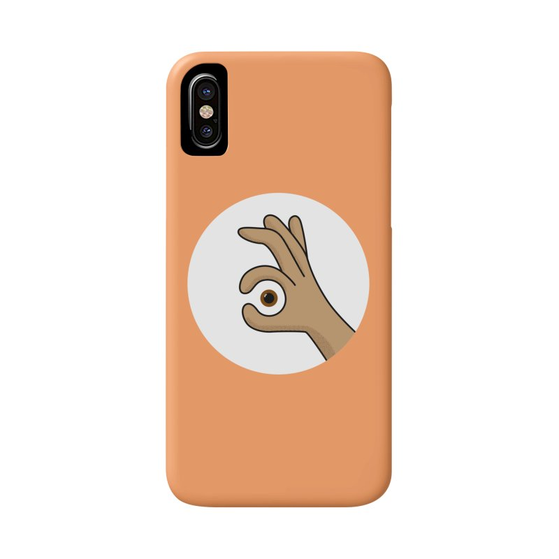 Eye See You Accessories Phone Case by Illustrations by Phil