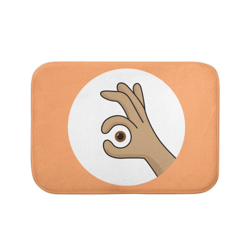 Eye See You Home Bath Mat by Illustrations by Phil