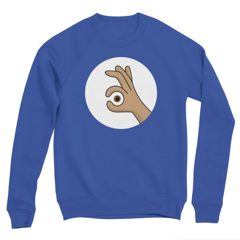 Eye See You Men's Sweatshirt by Illustrations by Phil