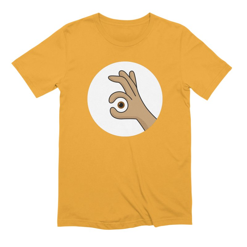 Eye See You Men's Extra Soft T-Shirt by Illustrations by Phil