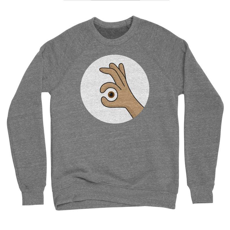 Eye See You Men's Sponge Fleece Sweatshirt by Illustrations by Phil