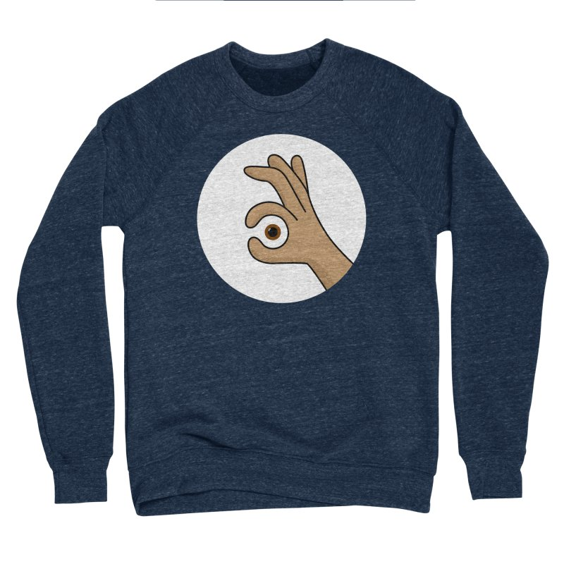 Eye See You Men's Sponge Fleece Sweatshirt by Illustrations by Phil