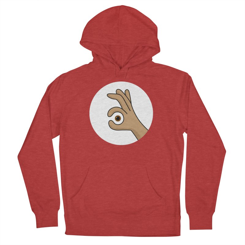 Eye See You Men's French Terry Pullover Hoody by Illustrations by Phil