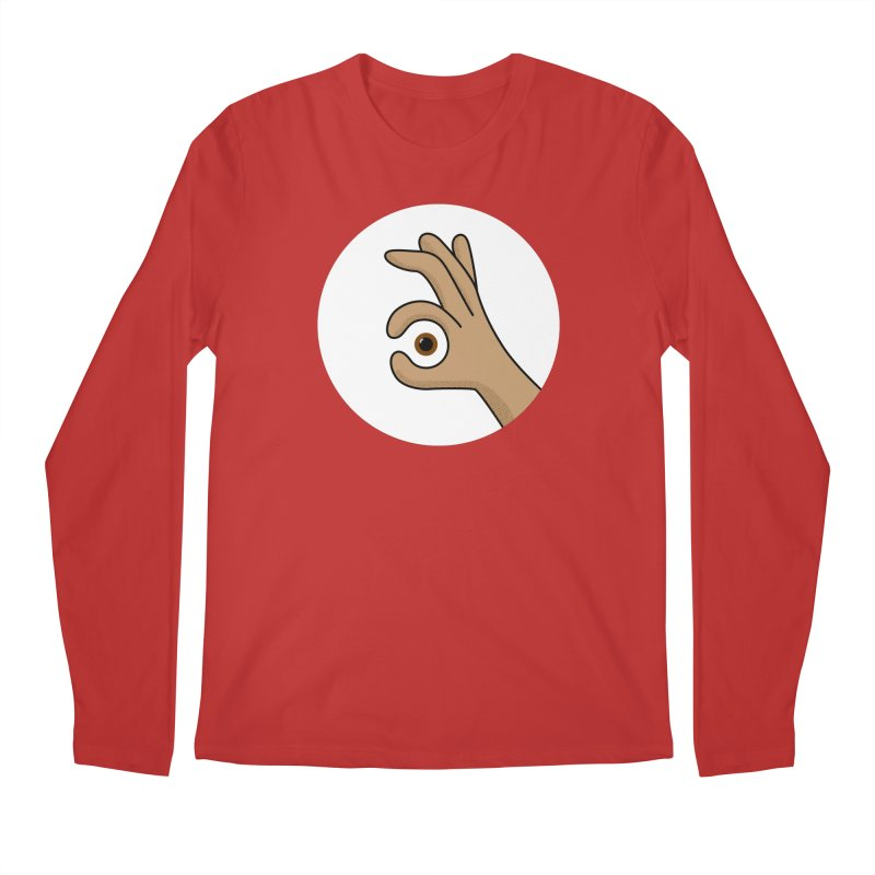 Eye See You Men's Regular Longsleeve T-Shirt by Illustrations by Phil