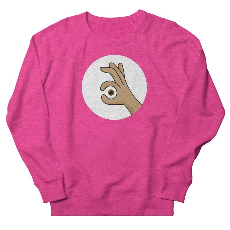 Eye See You Men's French Terry Sweatshirt by Illustrations by Phil