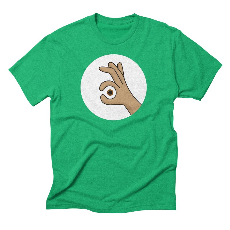 Eye See You Men's Triblend T-Shirt by Illustrations by Phil