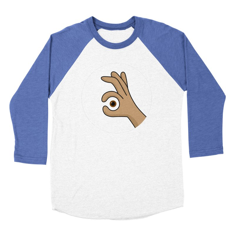 Eye See You Men's Baseball Triblend Longsleeve T-Shirt by Illustrations by Phil