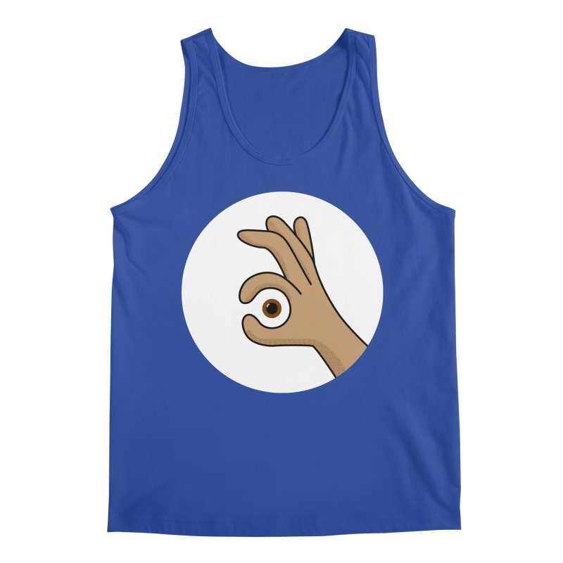 Eye See You Men's Regular Tank by Illustrations by Phil