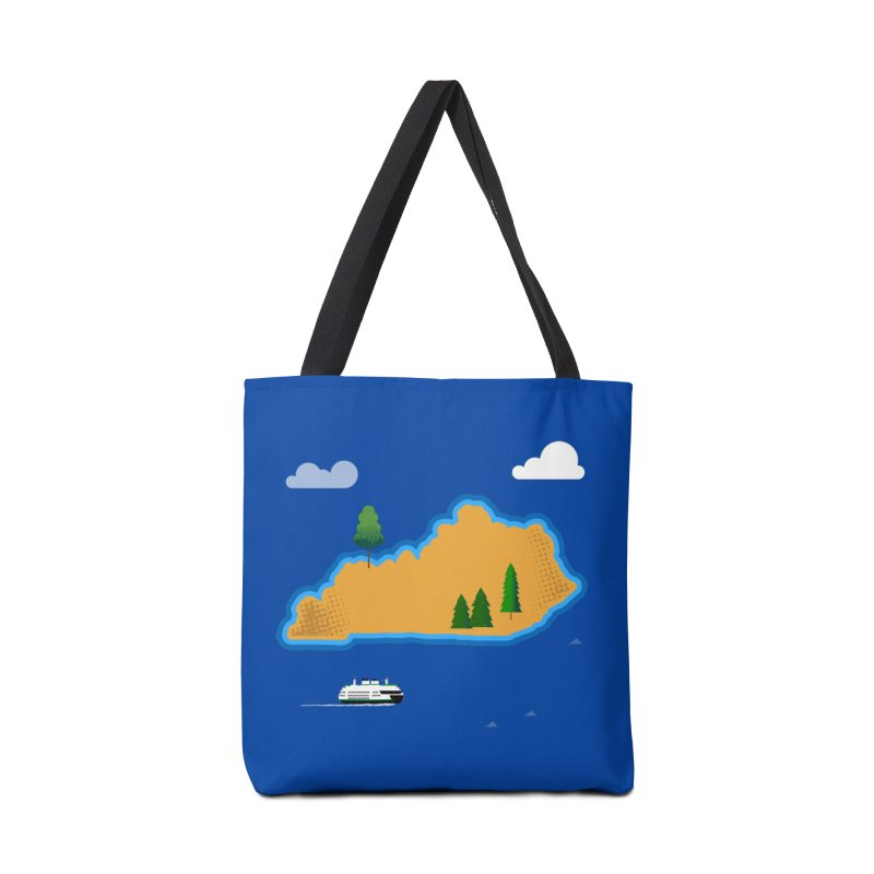 Kentucky Island Accessories Tote Bag Bag by Illustrations by Phil