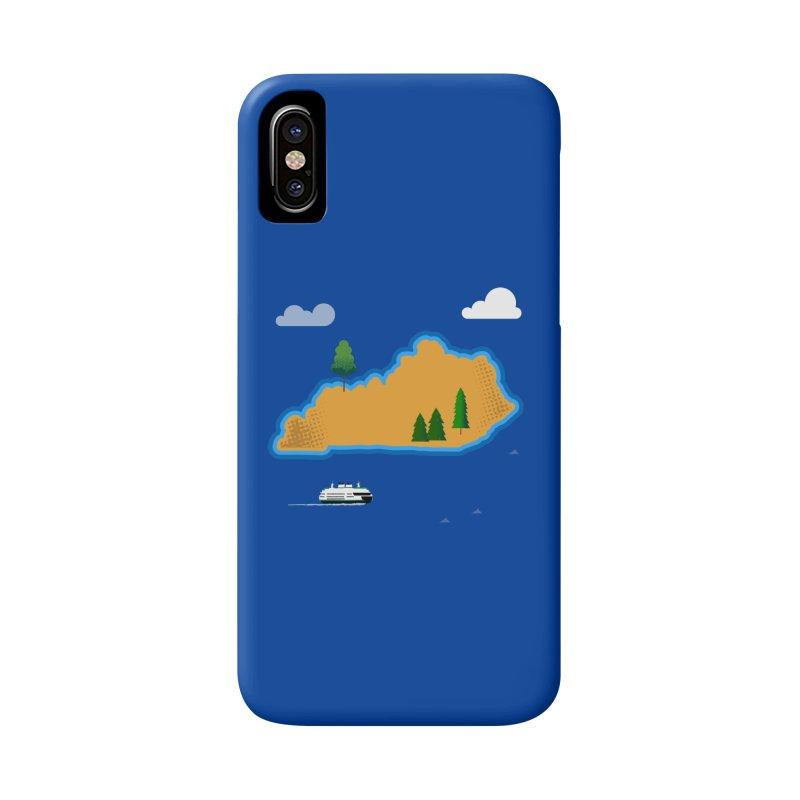 Kentucky Island Accessories Phone Case by Illustrations by Phil