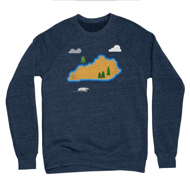 Kentucky Island Women's Sponge Fleece Sweatshirt by Illustrations by Phil