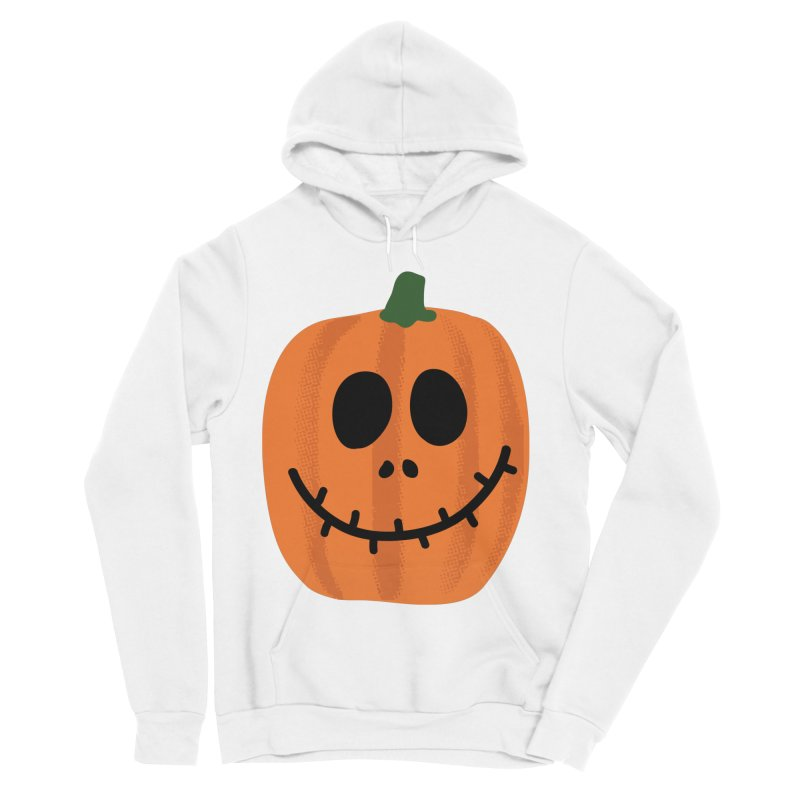 Happy Pumpkin Men's Sponge Fleece Pullover Hoody by Illustrations by Phil