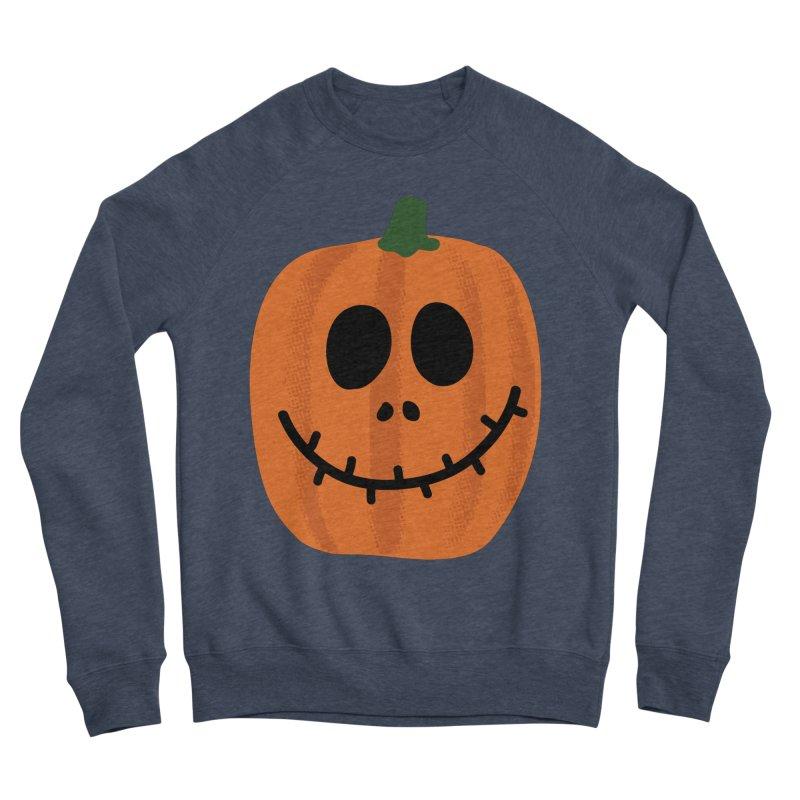 Happy Pumpkin Men's Sponge Fleece Sweatshirt by Illustrations by Phil