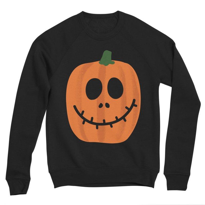 Happy Pumpkin Women's Sponge Fleece Sweatshirt by Illustrations by Phil
