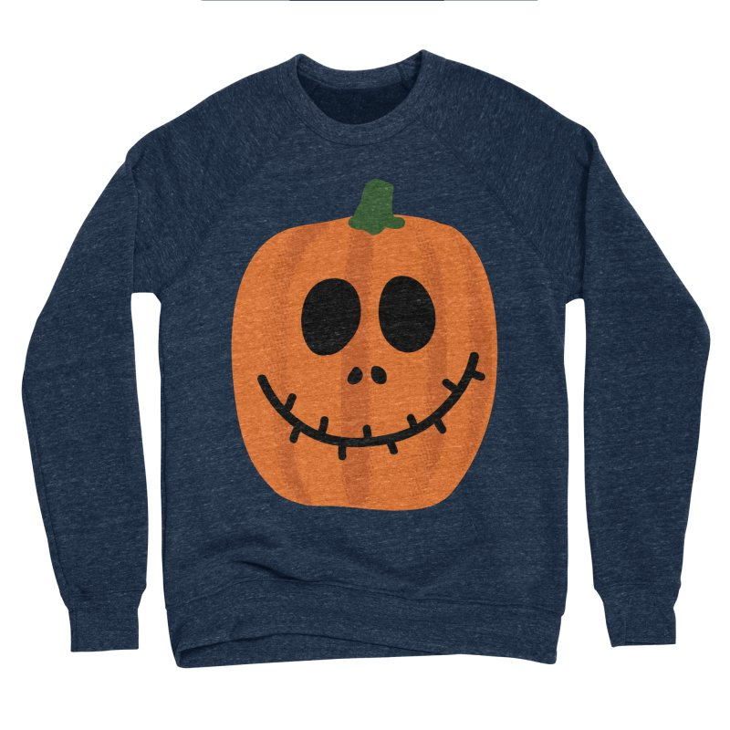 Happy Pumpkin Women's Sponge Fleece Sweatshirt by Illustrations by Phil