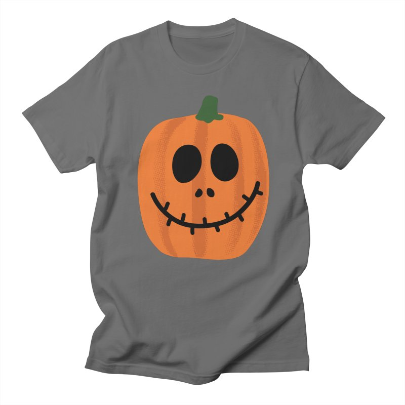 Happy Pumpkin Men's T-Shirt by Illustrations by Phil