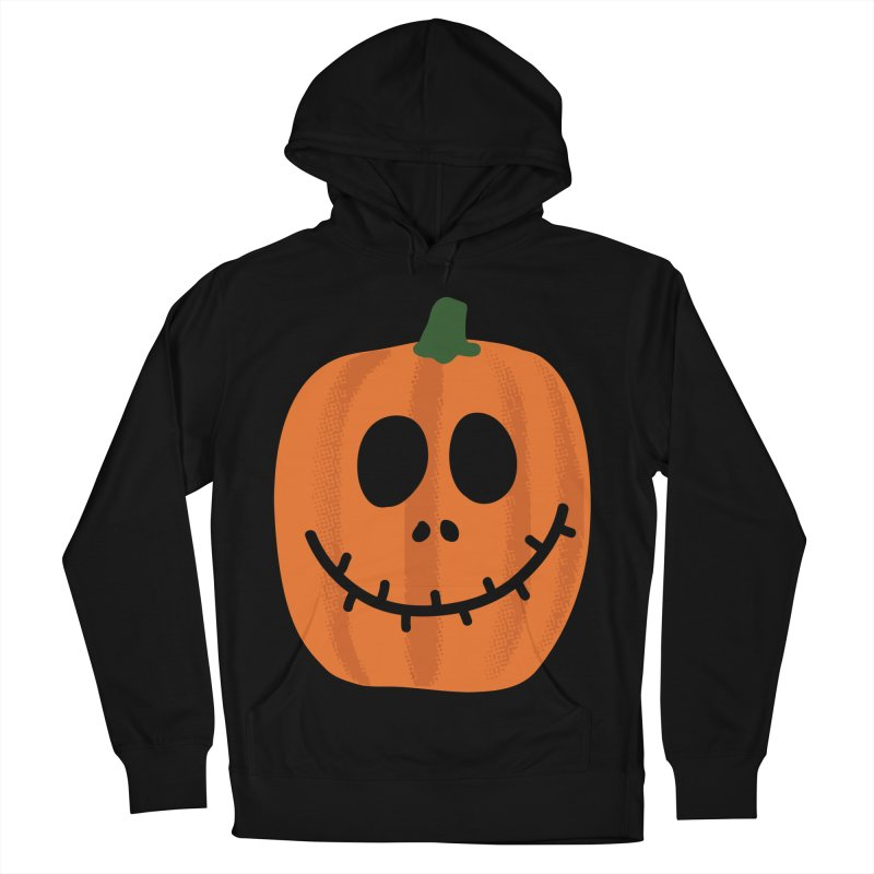 Happy Pumpkin Women's French Terry Pullover Hoody by Illustrations by Phil