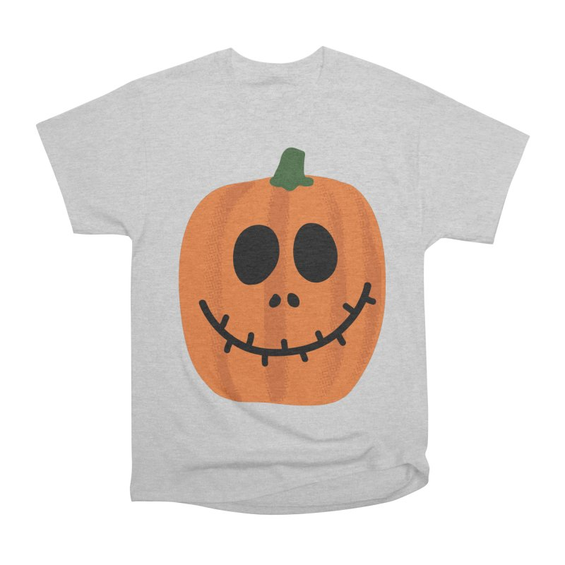 Happy Pumpkin Men's Heavyweight T-Shirt by Illustrations by Phil