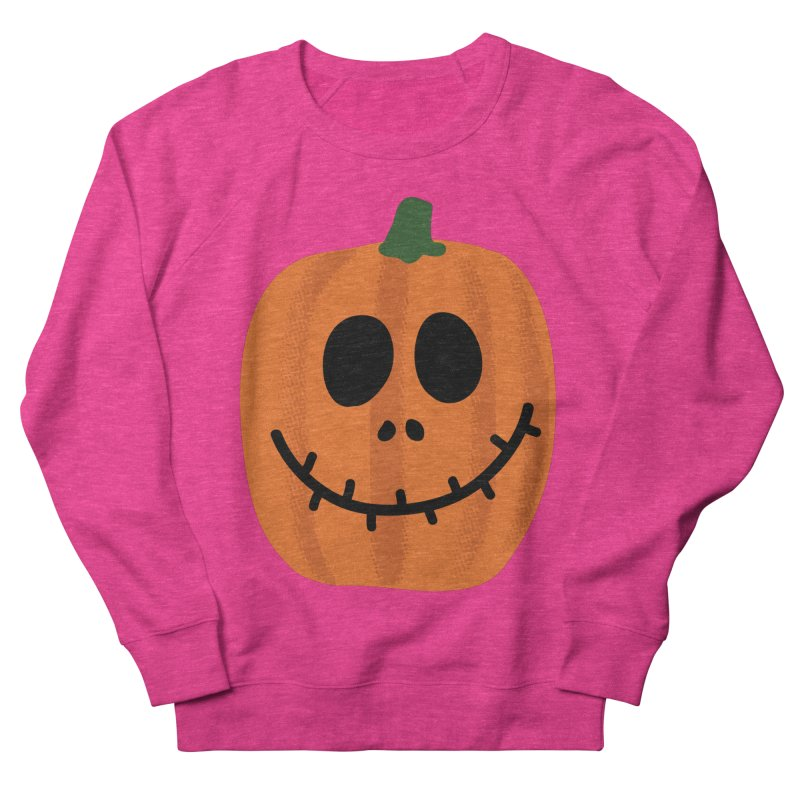 Happy Pumpkin Men's French Terry Sweatshirt by Illustrations by Phil