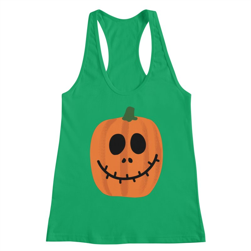 Happy Pumpkin Women's Tank by Illustrations by Phil