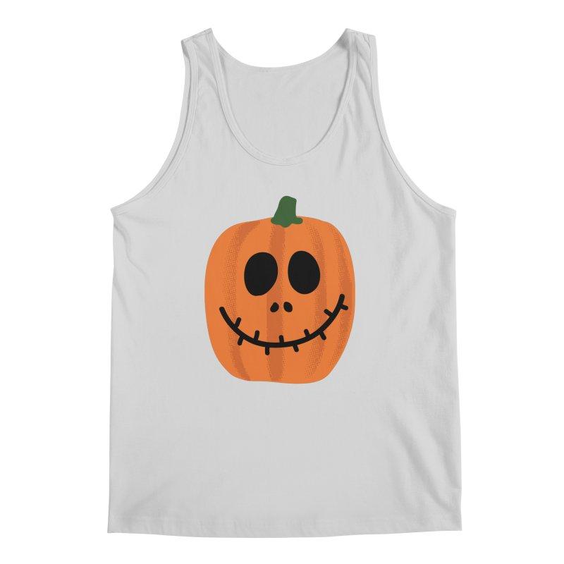 Happy Pumpkin Men's Regular Tank by Illustrations by Phil