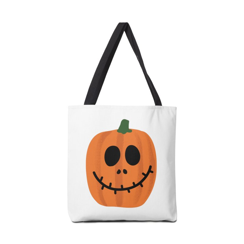 Happy Pumpkin Accessories Tote Bag Bag by Illustrations by Phil
