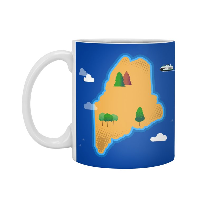 Maine Island Accessories Standard Mug by Illustrations by Phil
