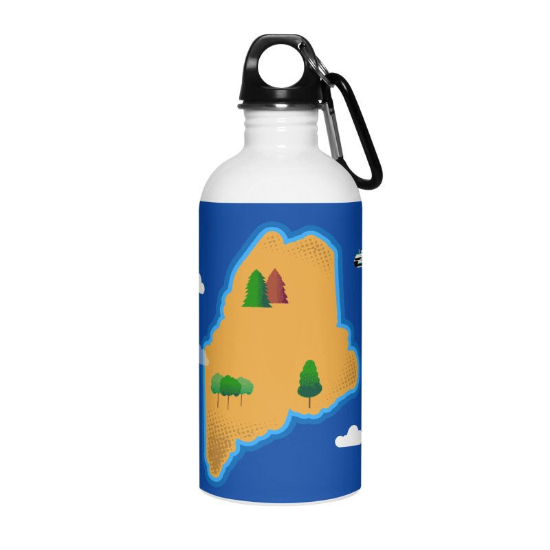Maine Island Accessories Water Bottle by Illustrations by Phil