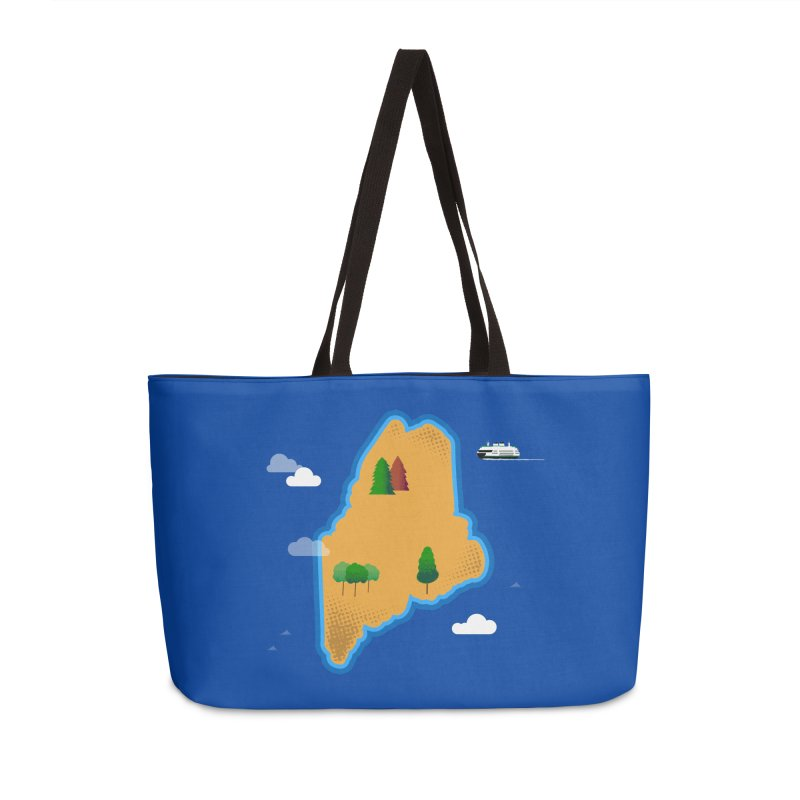 Maine Island Accessories Weekender Bag Bag by Illustrations by Phil