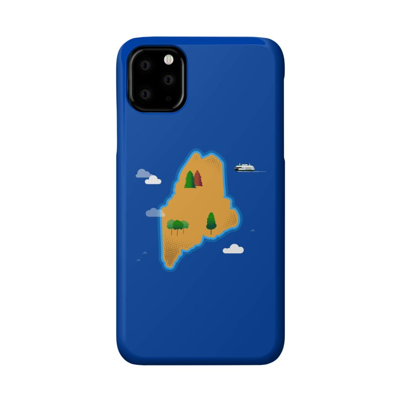 Maine Island Accessories Phone Case by Illustrations by Phil