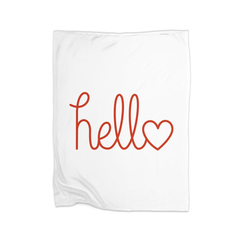 Love Letters Home Blanket by Illustrations by Phil