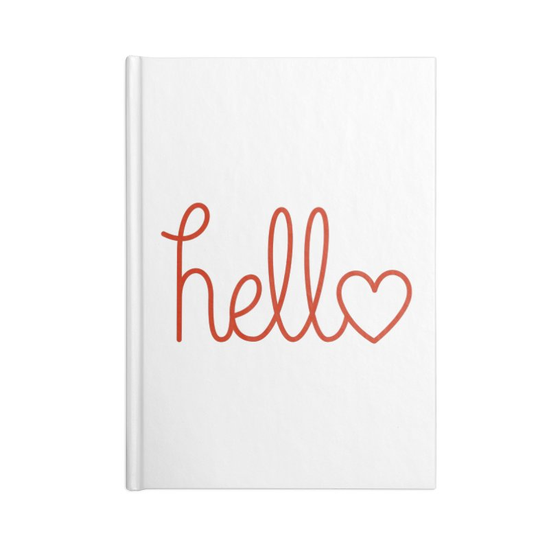 Love Letters Accessories Lined Journal Notebook by Illustrations by Phil