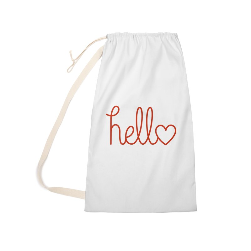 Love Letters Accessories Laundry Bag Bag by Illustrations by Phil