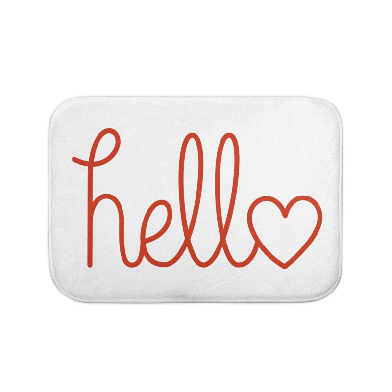 Love Letters Home Bath Mat by Illustrations by Phil