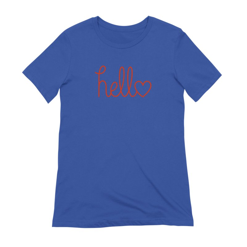 Love Letters Women's Extra Soft T-Shirt by Illustrations by Phil