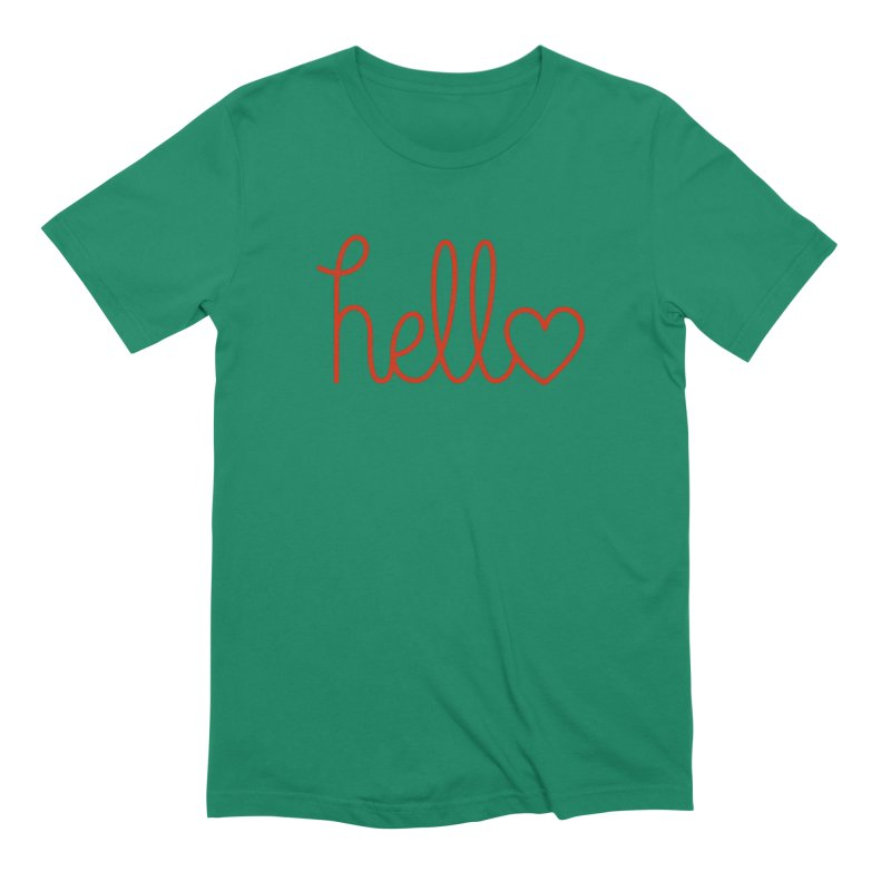 Love Letters Men's Extra Soft T-Shirt by Illustrations by Phil