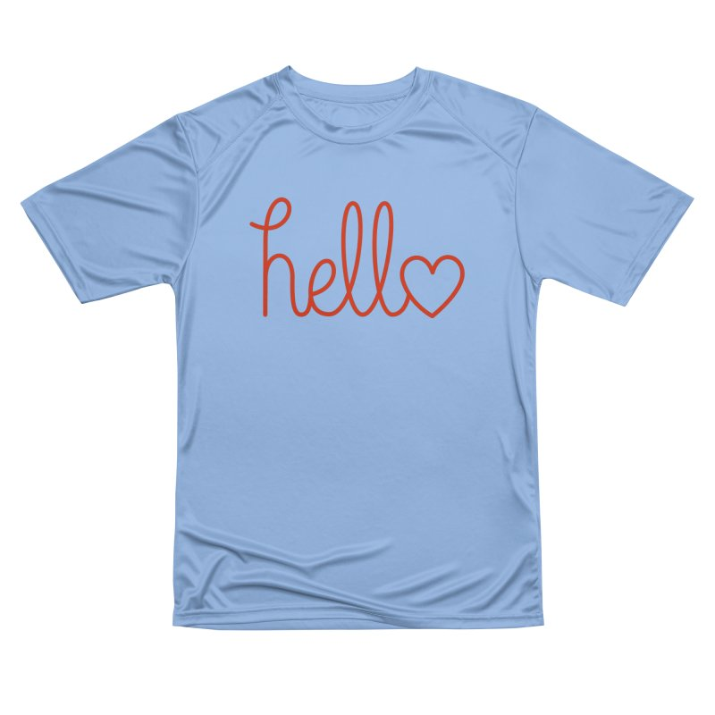 Love Letters Women's Performance Unisex T-Shirt by Illustrations by Phil