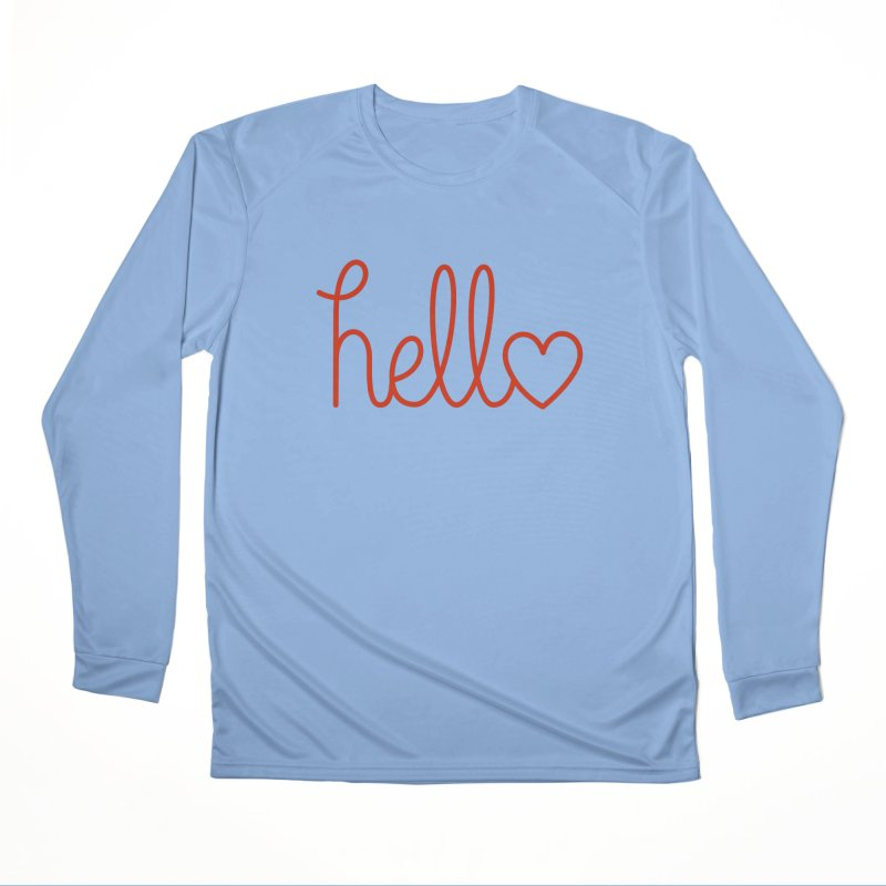Love Letters Women's Performance Unisex Longsleeve T-Shirt by Illustrations by Phil