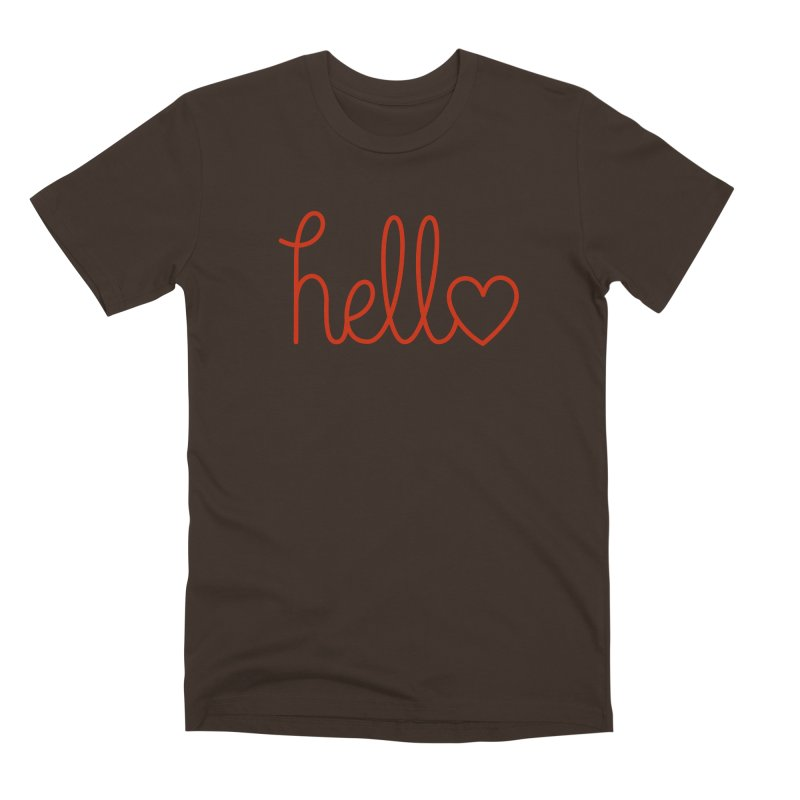 Love Letters Men's Premium T-Shirt by Illustrations by Phil