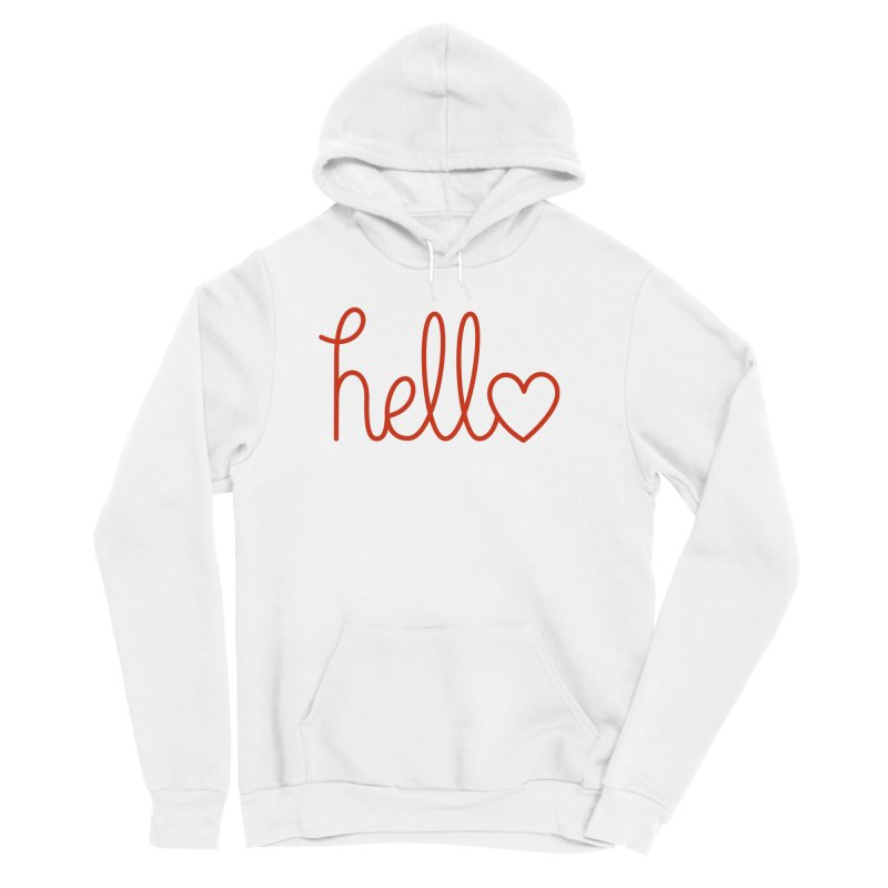 Love Letters Women's Sponge Fleece Pullover Hoody by Illustrations by Phil