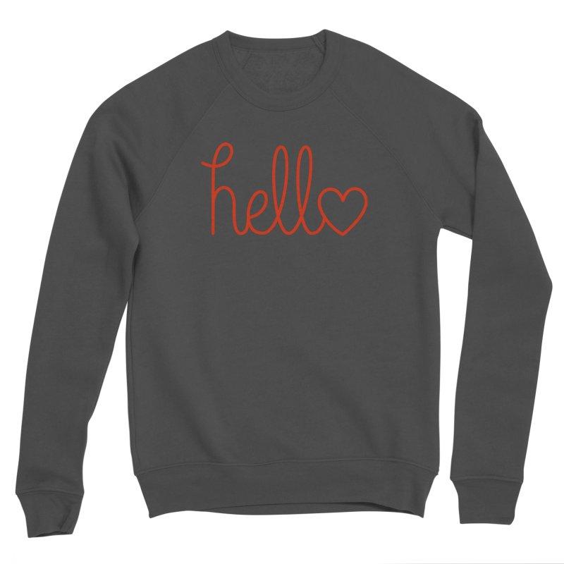 Love Letters Women's Sponge Fleece Sweatshirt by Illustrations by Phil